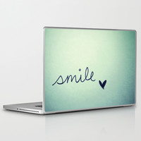 s m i l e Laptop & iPad Skin by Rubybirdie