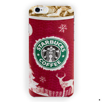 Starbucks Dark Cherry Mocha Cover For iPhone 6 / 6 Plus Case