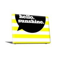Hello, Sunshine. (Macbook Skin) - Outer Skin