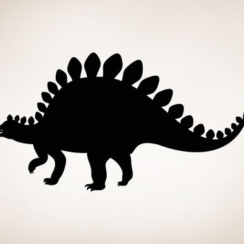 Vinyl Wall Decal Sticker Baby Stegosaurus #OS_MB360