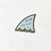 Valley Cruise Press Nice To Eat You Pin | Urban Outfitters
