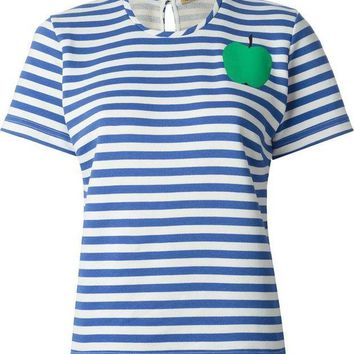 ICIKIN3 Peter Jensen horizontal stripe T-shirt
