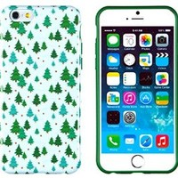 "iPhone 6 Case, DandyCase PERFECT PATTERN *No Chip/No Peel* Flexible Slim Case Cover for Apple iPhone 6 (4.7"" screen) - LIFETIME WARRANTY [Christmas Trees]"