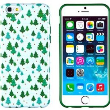 """iPhone 6 Case, DandyCase PERFECT PATTERN *No Chip/No Peel* Flexible Slim Case Cover for Apple iPhone 6 (4.7"""" screen) - LIFETIME WARRANTY [Christmas Trees]"""