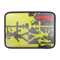 Zombie walk ipad sleeve