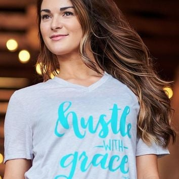 Hustle With Grace Tee