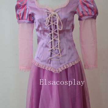 Rapunzel Dress, Rapunzel Costume, Rapunzel Cosplay, Rapunzel Costume Adult,  Women Rapunzel Dress, Princess Dress Adult/Kid