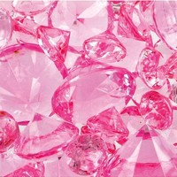 Light Pink Diamond Scatters- Party City