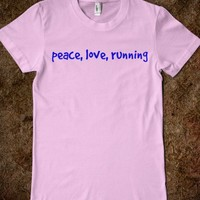 peace,love, running - simplebills