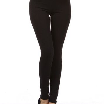 High Waist Banded Slim Fit Tight Ankle Length Leggings