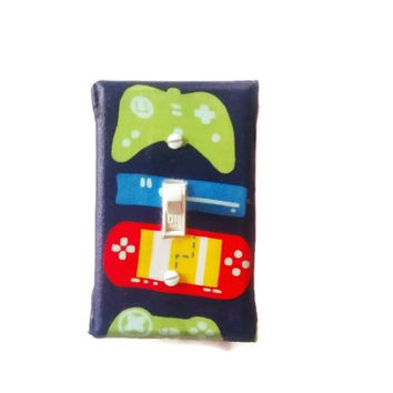 Video Game Light Switch Cover for Boys Bedroom