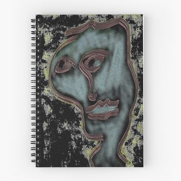 'digital painting' Spiral Notebook by BillOwenArt