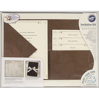 Wilton Print-Your-Own Invitations Kit Vintage Ivy Pocket Style Invitations, 24 ct. 1008-178