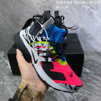 DCCK2 N941 Nike Wmns Air Presto Mid Acronym Zipper Casual Running Shoes Blue Red White