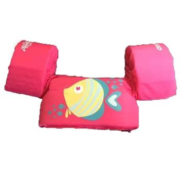 Stearns Puddle Jumper Childrens Life Jacket - Pink Fish