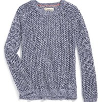 Girl's Tucker + Tate Open Knit Sweater