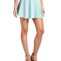 Mint Green Skater Skirt