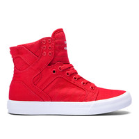 WOMENS SKYTOP D in RED - WHITE | SUPRA Footwear