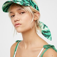 Free People Laguna Printed Visor