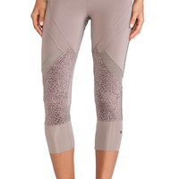 adidas by Stella McCartney Essentials 3/4 Starter Tights in Taupe