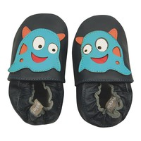Tommy Tickle Monster Crib Shoes - Baby Boy (Blue)