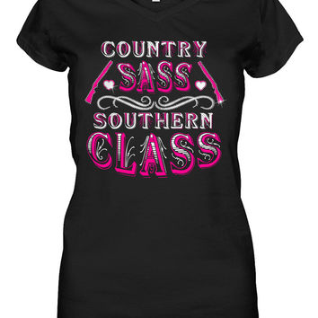 Southern Class Embellished Tee