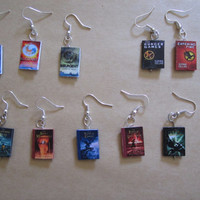 Hunger games/Percy jackson/Divergent book charm by PrincesCauldron