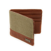 Icon Brand Wallet in Canvas Mix