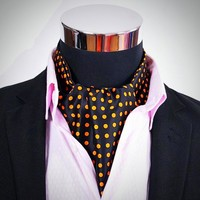 Satin Ascot Ties for Men - 18 variants