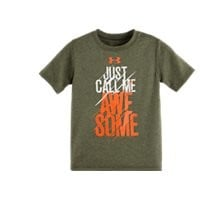 Under Armour Boys' Toddler UA Awesome T-Shirt