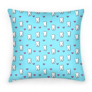 Teal Tooth Pattern