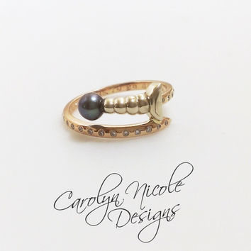 Sword Ring by Carolyn Nicole Designs