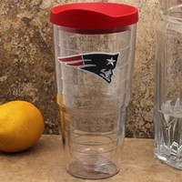 Tervis Tumbler New England Patriots 24oz. Logo Tumbler with Lid Pro