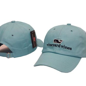 Vineyard Vines Women Men Embroidery Sports Sun Hat Baseball Cap Hat-5