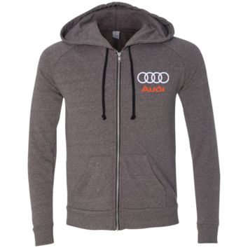 Audi Alternative Men's French Terry Full Zip