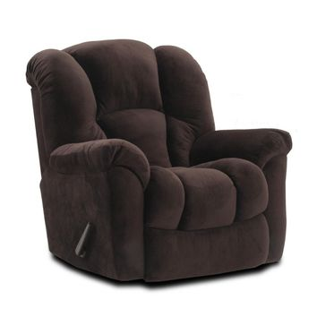 Espresso Big Man Rocker Recliner
