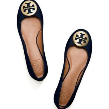Tory Burch Reva Perforated Ballet Flat