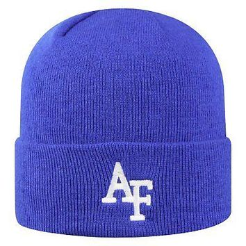 Licensed Air Force Falcons NCAA Cuffed Knit Tow Beanie Stocking Stretch Sock Hat Cap KO_19_1