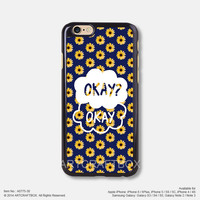 The Fault in Our Stars Okay Okay Daisy Flower iPhone 6 6Plus case iPhone 5s 5C case 775-30