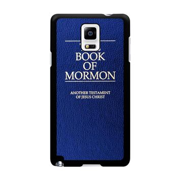 The Book Of Mormon Cover Book Samsung Galaxy Note 4 Case