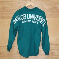 Baylor University Spirit Jersey - Peacock