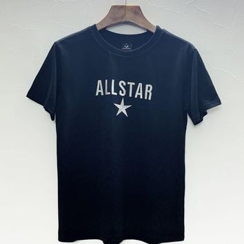 DCCK2 699 Converse ALLSTAR Embroidered Pentagon Casual T-shirt