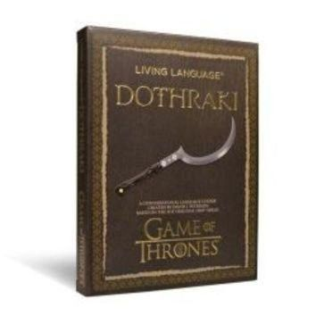 ICIKGQ8 living language dothraki a conversational language course based on the hit original h