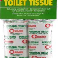 Coghlan's Toilet Paper - Package of 2