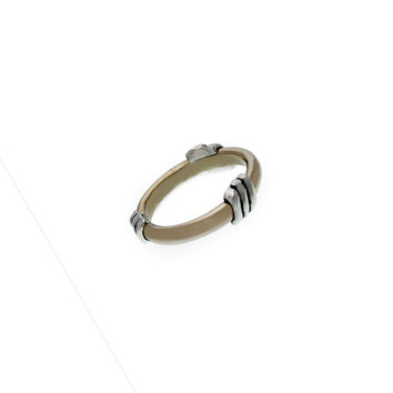 Elements Wind Sterling Silver Bronze Ring