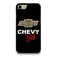 CAMO CHEVY GIRL iPhone 4/4S 5/5S/SE 5C 6/6S 7 8 Plus X Case