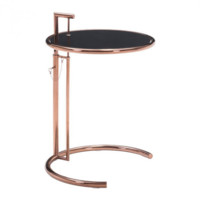 Eileen Grey Table   Rose Gold