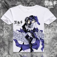 Black Butler Short Sleeve Anime T-Shirt V5