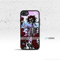 Rose Skull Phone Case Cover for Apple iPhone iPod Samsung Galaxy S & Note