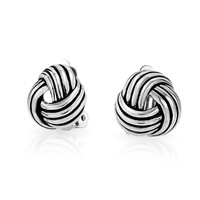 Bling Jewelry Precious Silver Knot